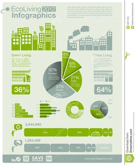 grafik design wikipedia ecology info graphics stock vector image of modern board