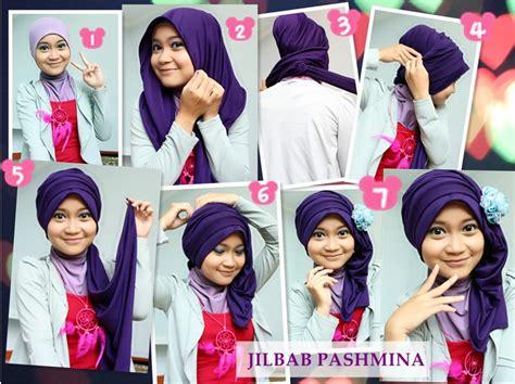 tutorial hijab pasmina simple untuk ke pesta inilah 6 cara memakai kerudung pashmina yang fleksibel