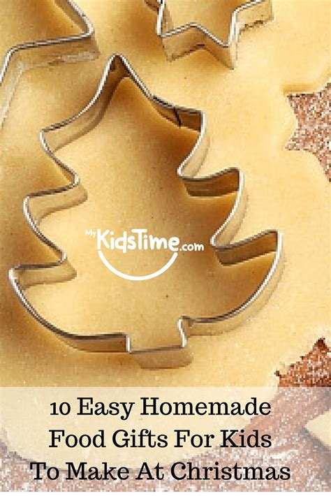 10 easy homemade food gifts for kids to make at christmas