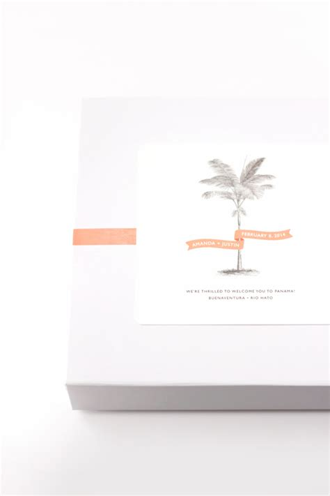 Wedding Welcome Box Julep by Tropical Wedding Welcome Gift And Diy Treat Bags Julep