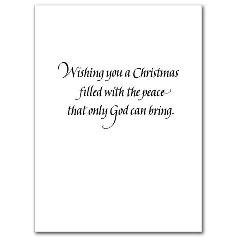 card text peace on earth card