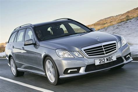 Used Mercedes Prices by Mercedes E Class Estate From 2010 Used Prices Parkers
