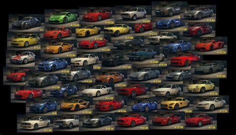 Schnellstes Auto Underground 2 by Need For Speed 2015 Tipps Alle Autos In Der 220 Bersicht
