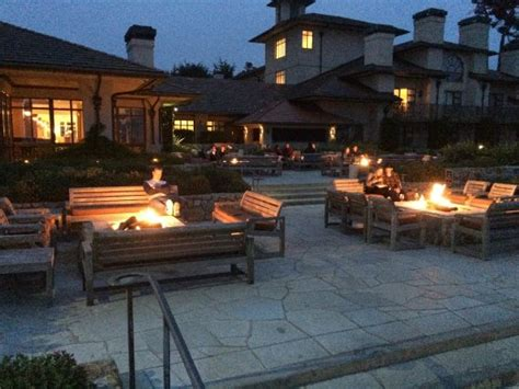 California Firepit Pit Patio Picture Of The Inn At Bay Pebble Tripadvisor
