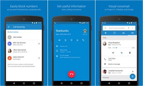 free app for android phones finally brings its phone and contacts apps to the play store