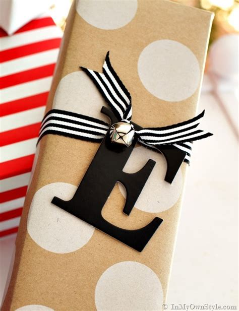 Gift Ideas Letter E Done In A Minute Letter Number Gift Tags In My Own Style