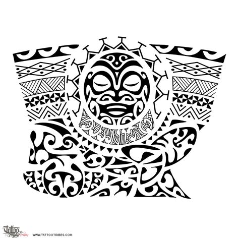 maori inspired tribal tattoo tahitian tattoos drawings maori inspired