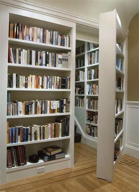 secret bookcase libraries home libraries