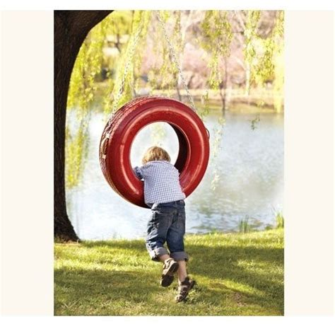 recycled tire swing triple play recycled tire swing red traditional kids