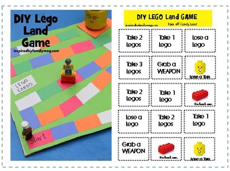 printable lego board games free diy lego game printable 24 7 moms