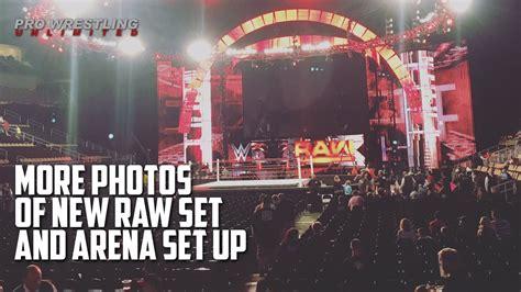 Rena Set more photos of new set arena set up
