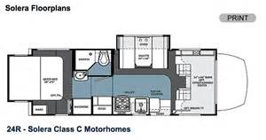 Class C Motorhome Floor Plans by Everything You Need To Know About Class C Motorhomes