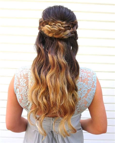 Half Up Half Hairstyles For Prom by Half Up Half Prom Hairstyles Pictures And How To S