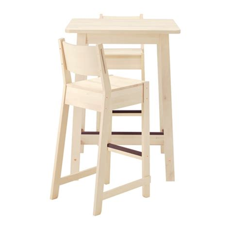 Ikea Bar Table Norr 197 Ker Norr 197 Ker Bar Table And 2 Bar Stools Ikea