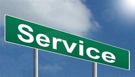 a to be a service service highway image