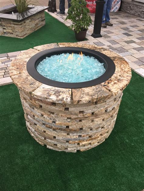 propane pit glass 12 best paver pits images on pits