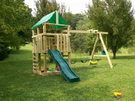 making a swing set 15 diy swing set build a backyard play area for your kids