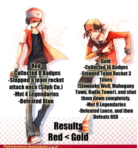 Pokemon Trainer Red Meme - site unavailable
