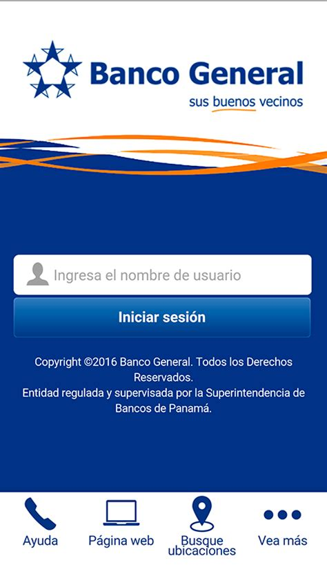 by web banco banca m 243 vil de banco general android apps on play