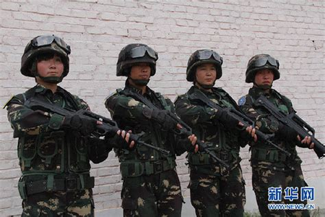 fuerzas especiales en de fuerzas especiales chinas participan en