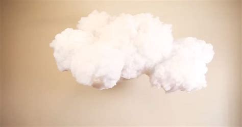 How To Make 3d Clouds Out Of Paper - this diy cloud l is completely awesome and