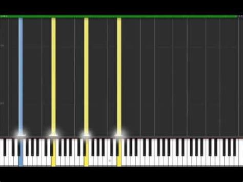tutorial piano rem the one i love rem easy piano tutorial in synthesia