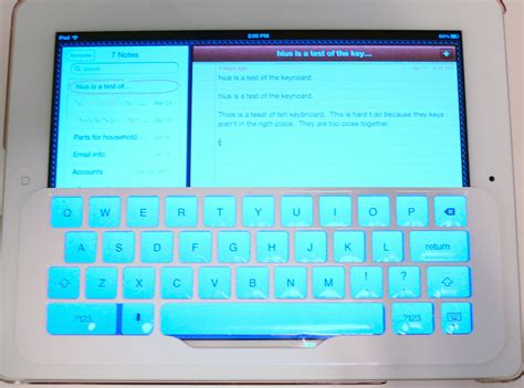 grid layout keyboard ikeyboard for ipad ipad 2 and new ipad review drippler