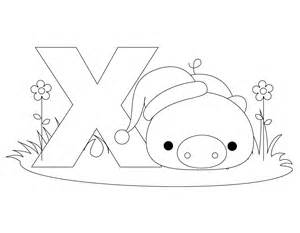 ex coloring pages free printable alphabet coloring pages for best