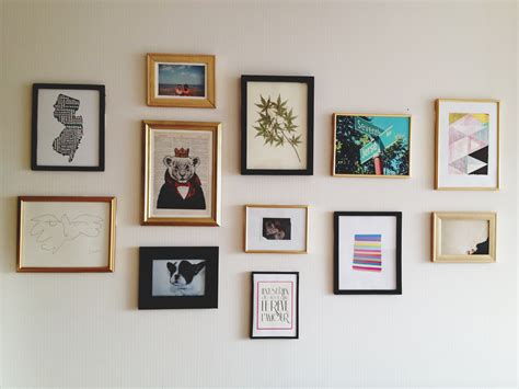gallery wall art create a gallery wall simply organized home life