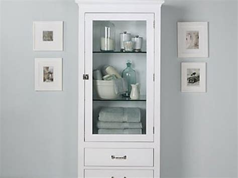 bathroom cabinet tall tall linen side cabinet antique white side cabinets