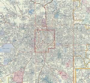 Atlanta Street Map by Atlanta Street Atlas Newhairstylesformen2014 Com