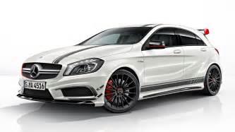 Mercedes A45 Amg Edition 1 Mercedes Reveals A45 Amg Edition 1 Extravaganzi