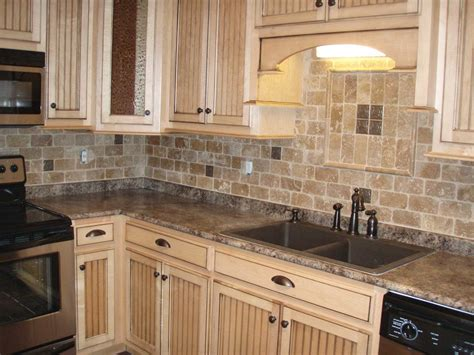brick tile backsplash kitchen ideas including