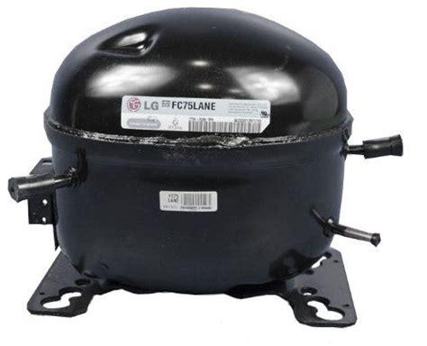lg compressor capacitor lg electronics tca34649901 refrigerator compressor ebay