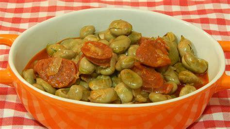 videos de cocina tradicional espa ola habas tiernas con chorizo receta f 225 cil cocina espa 241 ola