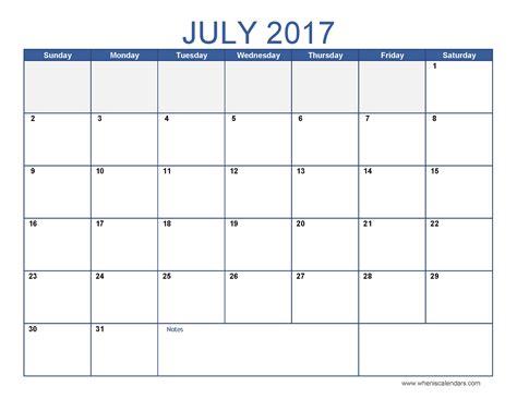 printable calendars july free printable calendar 2018 free printable calendar july