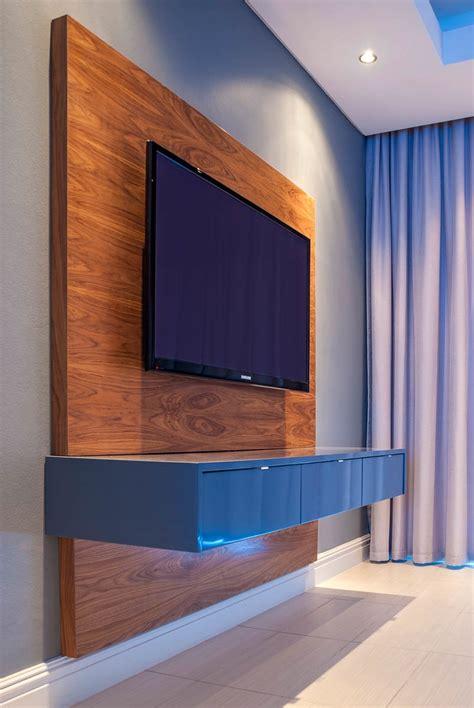 tv unit decosee com floating television unit mirror edge networks