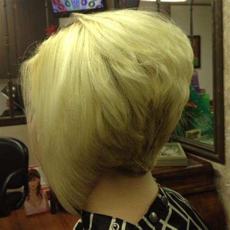 layered stack bob fab stacked n layered inverted bob her color n my cut