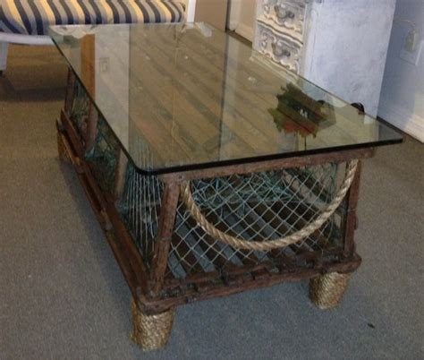 lobster trap coffee table yelp