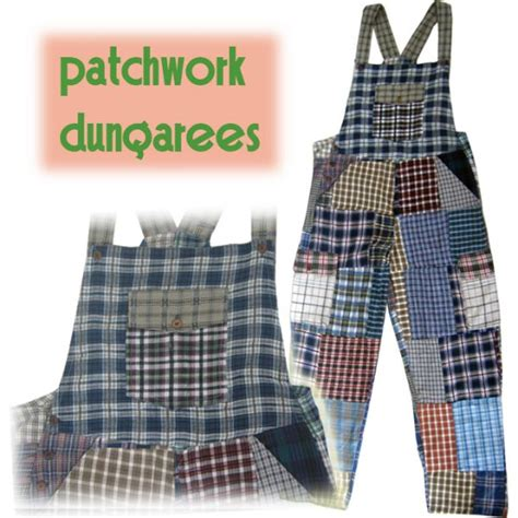 Patchwork Dungarees - patchwork clown dungarees shiva experience