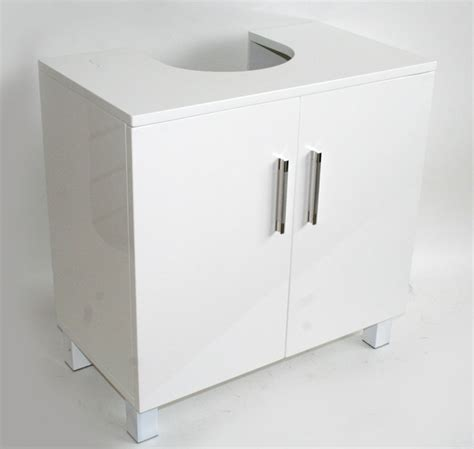 Under Kitchen Sink Cabinet The Image White Under Sink Sink Bathroom Storage Cabinet