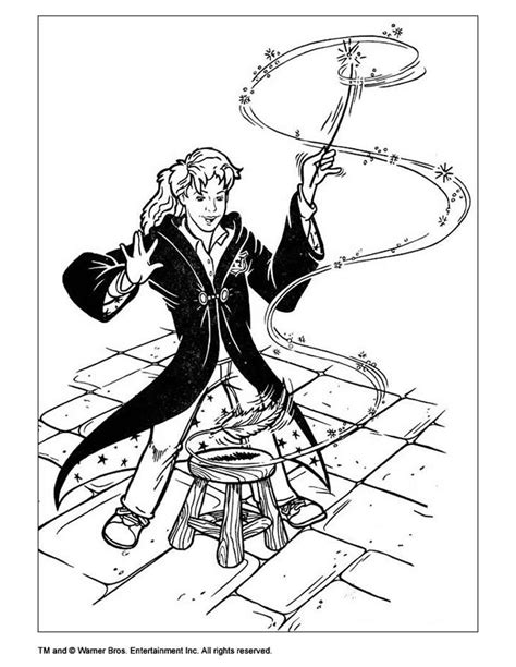 harry potter coloring book wands harry potter wand coloring pages