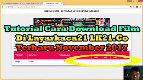download youtube indoxxi cara download film di layarkaca21 tutorial cara download