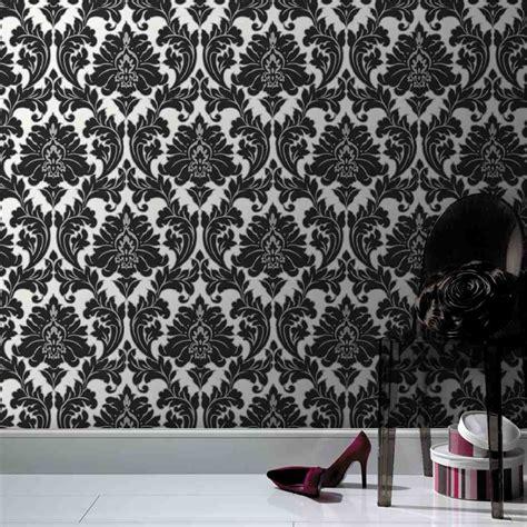 superfresco wallpaper black and white superfresco easy majestic damask wallpaper 52cmx10m black