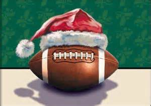 football christmas hat greeting cards gifts football