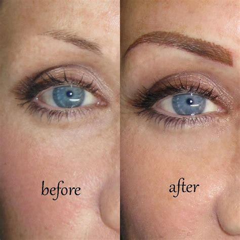 the progress of permanent makeup sheila bella permanent eyebrows done at sheila bella permanent makeup for those