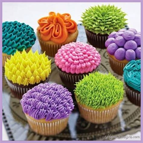 Ways To Decorate Cupcakes With Icing by Best Decorating Frosting For Cupcakes Home Design Home