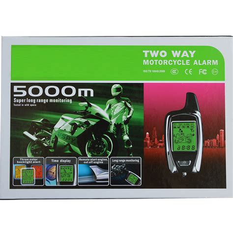 Alarm Two Way Mp banvie high quality original from 5000m two way anti theft motorcycle alarm with 2 lcd