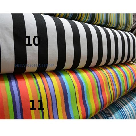 canvas material for chairs stripe cotton canvas fabric material upholstery sofa