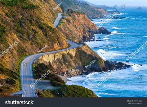 Highway 1 Pch - pacific coast highway highway 1 southern stock photo 127554866 shutterstock